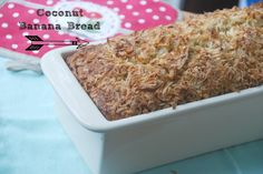 The BEST banana bread ever!! Made with coconut milk and maple syrup!!! :-)