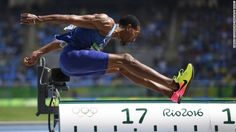 USA's Christian Taylor competes in the Men's Triple Jump Final…