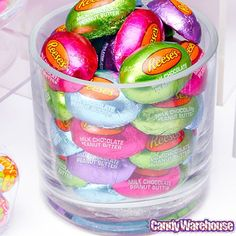 Reese's Mini Chocolate Easter Eggs Candy: 50-Piece Bag