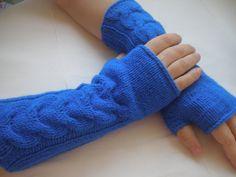 Spice Fingerless Gloves Arm Warmer... $27.00, via Etsy.