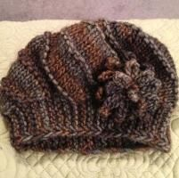 Knitting : Cool Wool Hat and Cowl Set
