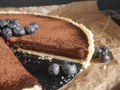 Einfaches Rezept für eine Schokoladen-Tarte nach Jamie Oliver