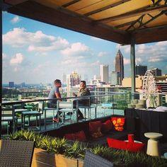 Atlanta Rooftop Bars: SkyLounge