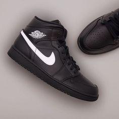 new product d8e15 80b9a Nike Air Jordan 1 Mid - 554724-049 airjordan1,aj1,footish,Nike