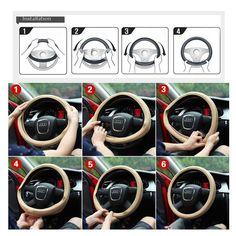 Soft Steering Wheel Cover Car Fur