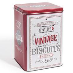 Boite à biscuits Rétro