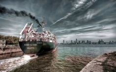 Scarica sfondi liverpool, una bulk carrier, cupo mattina, nave da carico, sider alicudi