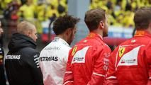 """%TITTLE% - Lewis Hamilton has said he might join the""""take a knee"""" protest when the national anthem is played ahead of the United States Grand Prix next... - https://carpicture.info/hamilton-may-take-a-knee-at-f1-united-states-gp.html"""