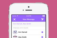 Rumr: Anonymous messaging with people you know.