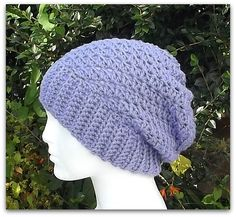 Moray Slouch Free Crochet Pattern from AG Handmades