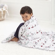 """Another """"favorite"""" blanket company: Aden + Anais. They make everyone's favorite muslin swaddle blankets, perfect for summer. They also the """"dream blanket"""", a thicker blanket from super soft bamboo. Best Baby Blankets, Muslin Swaddle Blanket, Baby Swaddle, Cotton Blankets, Comfy Blankets, Cotton Muslin, Toddler Photography Poses, Dream Blanket, Elephant Parade"""