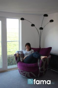 Snug chair with a view!