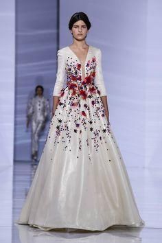 Georges Hobeika Fashion Show Couture Collection Fall Winter 2015 in Paris