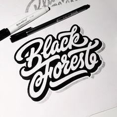 "Sketch ""Black forest"" by dimaphew"