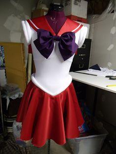 Sailor Moon Fuku -Made to Order-  Any Senshi Size S/M. $150.00, via Etsy.