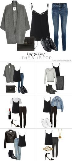 How to wear: the slip top. – Use less