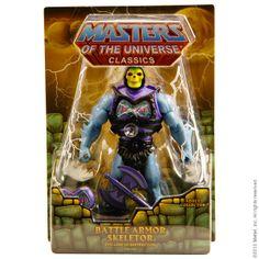 matty | Classics | Battle Armor Skeletor Figure