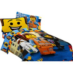 Lego Movie Comforter Bedding Emmet