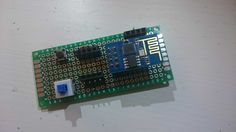 ESP8266-01 homemade programmer