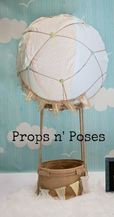 Hot Air Balloon Photography Prop-The Orginal Etsy by PropsandPoses