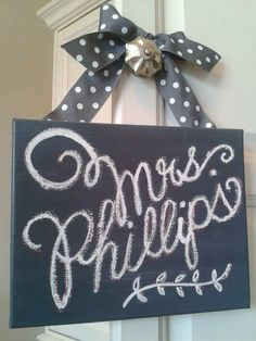 how to make a DIY chalk art/quote canvas (that won't erase), wheee! :-)
