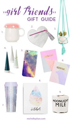Girl Friends Gift Guide - MichellePhan.com – Michelle Phan