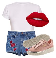 """Untitled #21"" by alica2003 on Polyvore featuring Lime Crime"