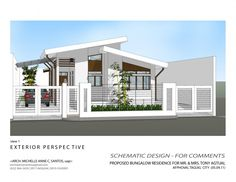awesome Interior Design Alluring Modern Bungalow House Exterior Design Modern Bungalow Zen House Modern Zen Bungalow House Designs Modern Bungalow House With Floor Plan Modern Bungalow House With Attic M Simple Modern Houses Exterior Modern Zen House, Modern Bungalow House Design, Modern House Plans, Small Bungalow, Zen House Design, Simple House Design, Bungalow Exterior, Modern Farmhouse Exterior, Farmhouse Style