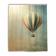 >> Click to Buy << Hot Air Balloon Cortina De Chuveiro Modern Curtains For Bathroom Anti Mold Colorful Fabric Shower Curtains With Hooks  #Affiliate