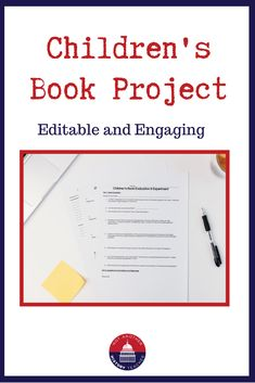 Engage your students with this Sociology Children's Book Project! This project will provide hands-on ways for students to apply knowledge while thinking critically about the material.  Students are to research one children's book, design questions to ask kids, read the book to elementary kids, and then analyze the results of the story. This is a wonderful and powerful way to end your socialization unit.