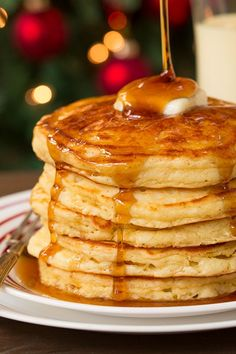 Egg Nog Pancakes Recipe