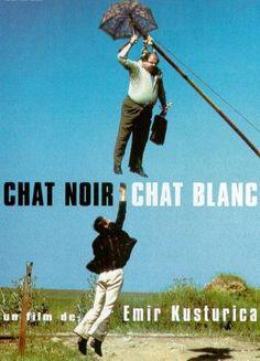 Chat Noir/Chat Blanc By Emir Kusturica Cinema Art, Films Cinema, Film Movie, Hd Movies, Movies Online, Bon Film, Movie Shots, Film Archive, Poster