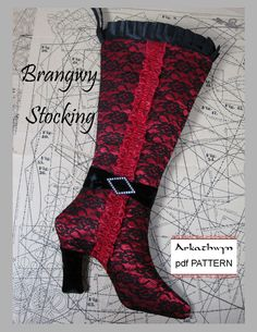 Free Pattern for a Classic Christmas Stocking.
