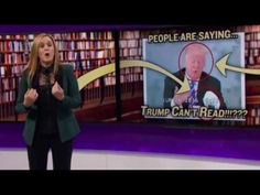 Trump is illiterate  can't read - Just like his friends  Trump the Liar - YouTube