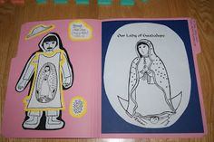 My Little Flower: Celebrating Saints with Liturgical Folders -- Catch Up Post