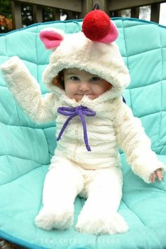 d21637267bef Moogle cosplay for baby from Final Fantasy sewn by sew chibi designs
