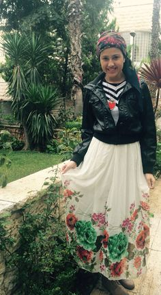 #look #tzniut #fashion #tznius #modest #style #dress #scarf #kissui #headcovering #conservative #happy #girls #women #teens #spring #winter #outfit #ideas #maried