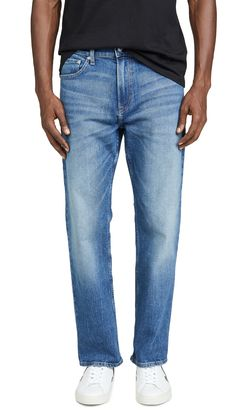 CALVIN KLEIN JEANS RELAXED STRAIGHT LEG JEANS IN PIELS. #calvinkleinjeans #cloth