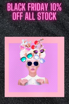 10% off all stock ONLY this friday for 24 hours. Active from 27 Nov to 28 Nov If you are a new customer- look out for our first time purchase code on the website. Trending Sunglasses, Retro Sunglasses, Buy Sunglasses Online, Black Friday, First Time, Retro Vintage, Website
