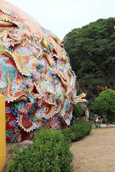 Taoist Temple, Tsude Temple, Nantou, #Taiwan