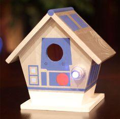 Star Wars R2-D2 Birdhouse