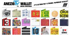 It's ultimately strong paperlike wallet! It's AnezigTY