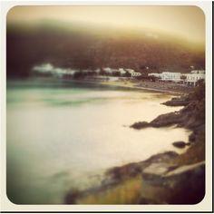 Psarroy beach sunset