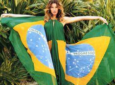Gisele bem brasileira!
