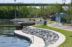*한스버그 스트랜파크, 워터프론트 [ Nyréns Architects ] Hornsbergs Strandpark :: 5osA: [오사]