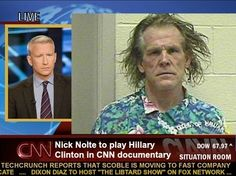 Nick Nolte To Play Hillary Clinton In New Movie