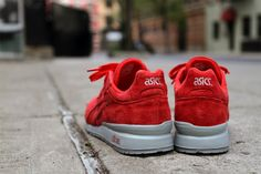 "Ronnie Fieg x ASICS GT-II ""Super Red 2.0"" - 04/2012"
