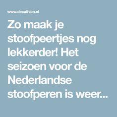 Zo maak je stoofpeertjes nog lekkerder! Het seizoen voor de Nederlandse stoofperen is weer aangebroken. De bekende Gieser Wildeman peren uit...