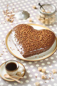 Шоколадно-арахисовый кекс / Bolo de cacau e manteiga de amendoim
