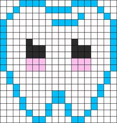 Perfect Tooth Perler Perler Bead Pattern / Bead Sprite